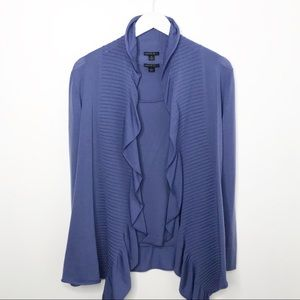 Lafayette 148 | Wool Cardigan Set